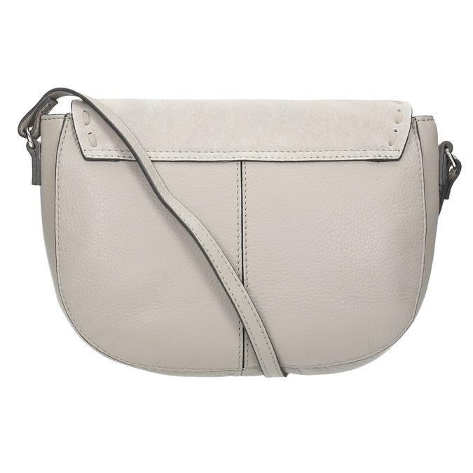 Kožená kabelka se střapcem bata, béžová, 964-8161 - 26
