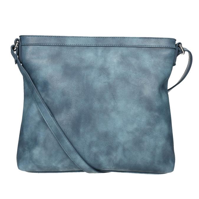 Modrá Crossbody kabelka bata, modrá, 961-9686 - 19