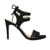 Černé sandály na jehlovém podpatku bata, černá, 769-6603 - 15