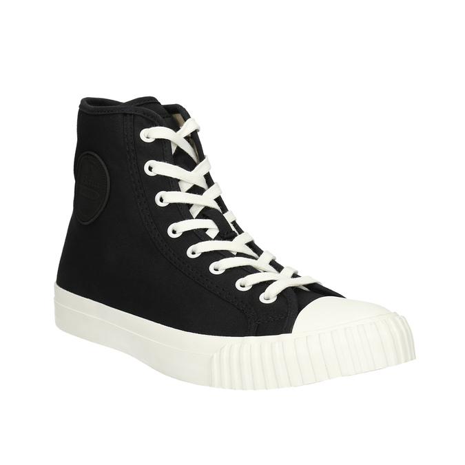 Pánské kotníčkové tenisky bata-bullets, černá, 889-6291 - 13