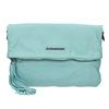 Modrá kožená kabelka fredsbruder, modrá, 964-9037 - 17