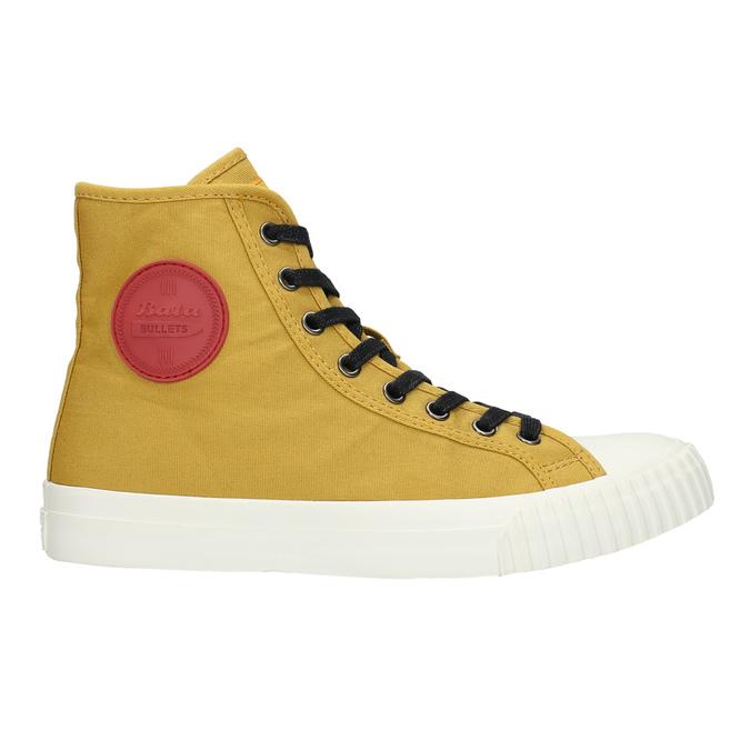 Pánské kotníčkové tenisky bata-bullets, žlutá, 889-8293 - 15