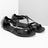 Černé dámské sandály vagabond, černá, 564-6017 - 26