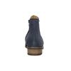 Kotníčkové kozačky z broušené kůže gabor, modrá, 613-9013 - 17