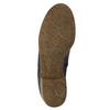 Kotníčkové kozačky z broušené kůže gabor, modrá, 613-9013 - 19