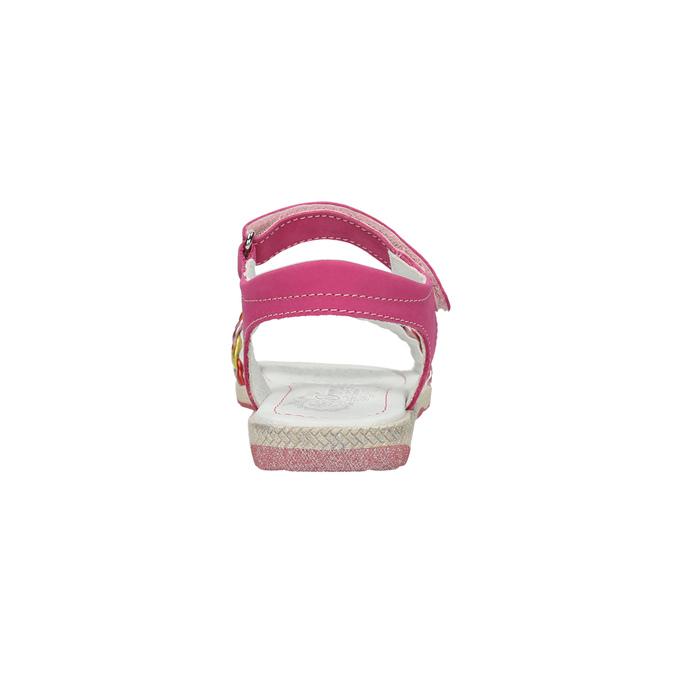 Kožené dívčí sandály primigi, růžová, 366-5010 - 17