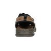 Kožené pánské sandály bata, hnědá, 856-4600 - 17