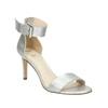 Stříbrné sandály na podpatku insolia, stříbrná, 761-1608 - 13