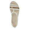 Dámské sandály s překříženými pásky crocs, bílá, 562-1067 - 26
