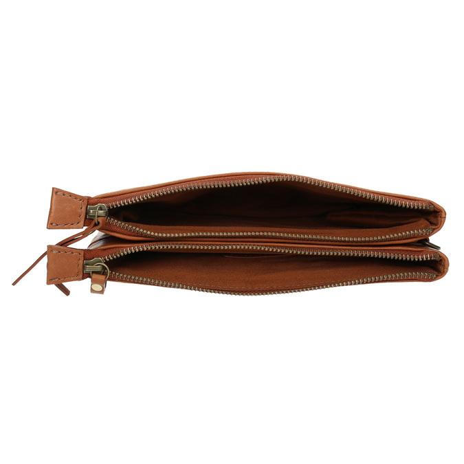 Kožené psaníčko se cvoky bata, hnědá, 964-3226 - 15
