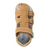 Dětské kožené sandály richter, hnědá, 114-3019 - 19