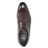 Pánské kožené polobotky bata, hnědá, 826-4648 - 15