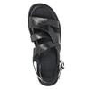 Pánské kožené sandály černé bata, 2021-864-6604 - 19