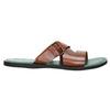 Pánské kožené nazouváky bata, hnědá, 866-3623 - 15