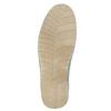 Ležérní kožené polobotky weinbrenner, zelená, 526-7636 - 19