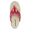Dámské žabky ve sportovním stylu weinbrenner, červená, 566-5611 - 17