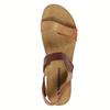 Dámské kožené sandály weinbrenner, hnědá, 566-4630 - 19