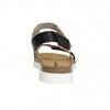 Kožené dámské sandály na suchý zip weinbrenner, růžová, 566-3630 - 17