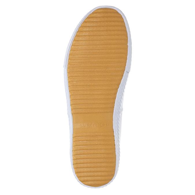 Bílé ležérní tenisky tomy-takkies, bílá, 889-1227 - 26