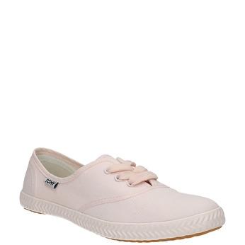 Růžové dámské tenisky tomy-takkies, růžová, 589-5180 - 13