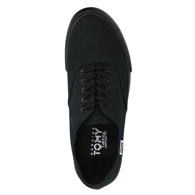 Černé pánské tenisky tomy-takkies, černá, 889-6227 - 19
