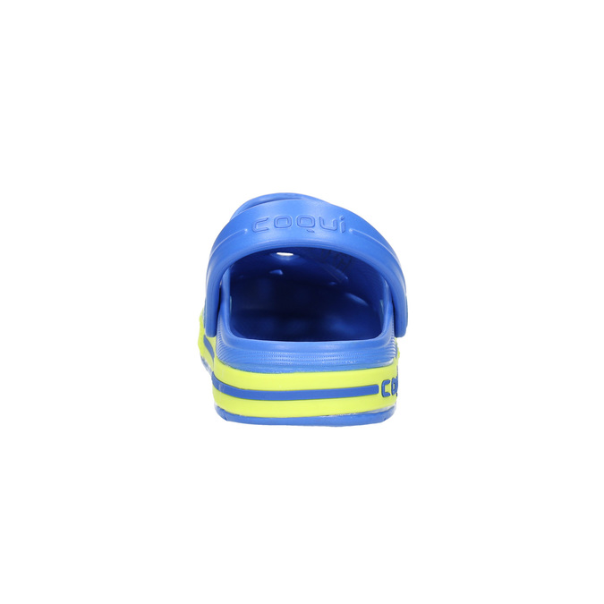 Dětské sandály s žabkou coqui, modrá, 272-9602 - 17