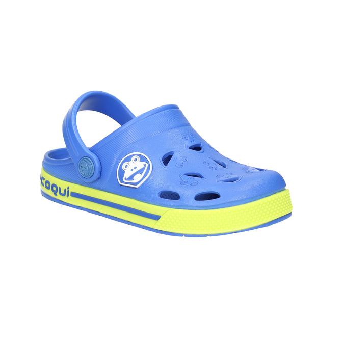 Dětské sandály s žabkou coqui, modrá, 272-9602 - 13