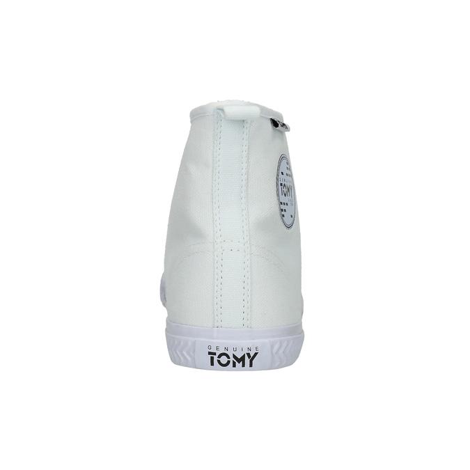 Kotníčkové dámské tenisky tomy-takkies, bílá, 589-1172 - 17