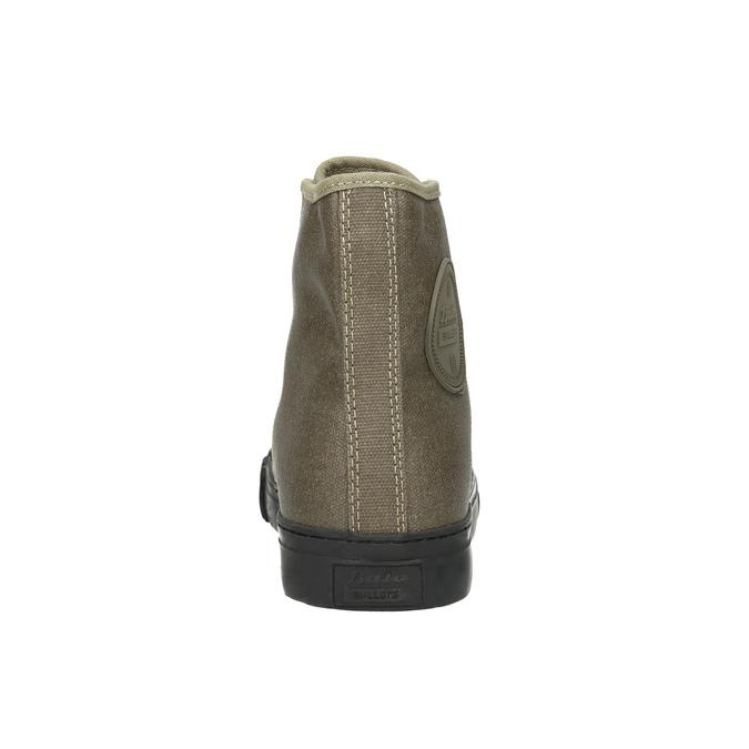 Khaki kotníčkové tenisky bata-bullets, zelená, 589-7143 - 17