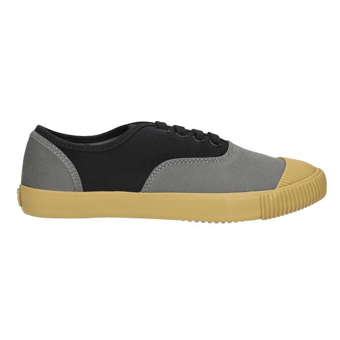 Dámské tenisky s gumovou špicí bata-bullets, černá, 589-6402 - 15