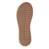 Dámské kožené žabky bata, šedá, 566-2607 - 26