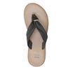 Dámské kožené žabky bata, černá, 566-6607 - 19