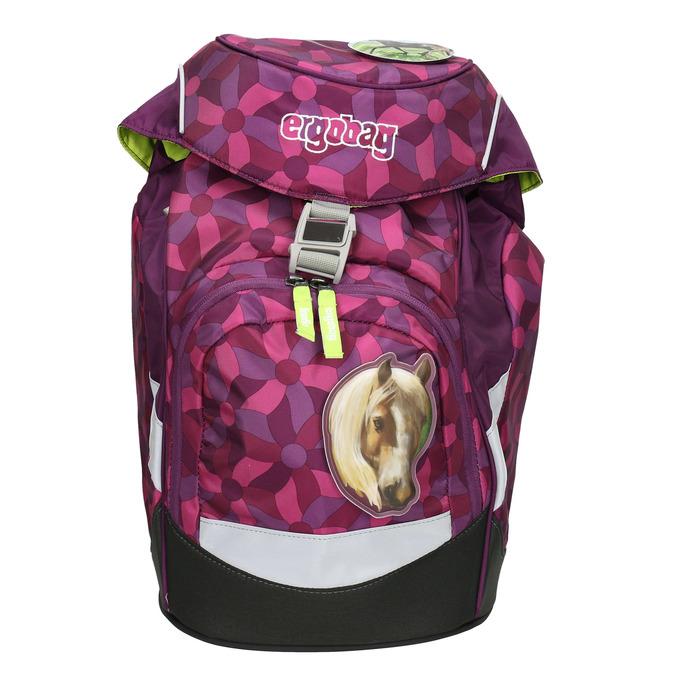 Růžový školní batoh s koněm ergobag, růžová, 969-5055 - 26