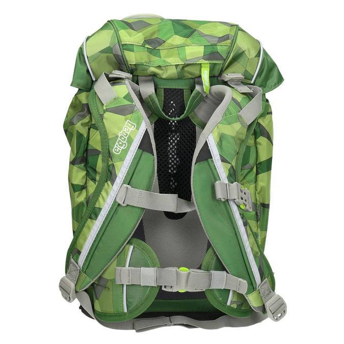 Zelený školní batoh ergobag, zelená, 969-7054 - 16
