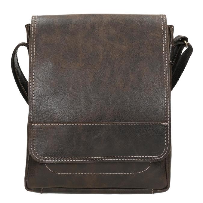 Kožená pánská taška bata, hnědá, 964-4283 - 26