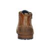 Kožená kotníková obuv se zipem bata, hnědá, 826-3911 - 17