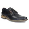 Neformální kožené polobotky bata, modrá, 826-9910 - 13