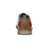 Ležérní kožené polobotky bata, hnědá, 826-3910 - 17