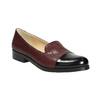 Kožené dámské Loafers bata, červená, 516-5610 - 13
