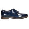 Kožené dámské polobotky bata, modrá, 528-9600 - 15
