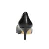 Kožené dámské lodičky insolia, černá, 624-6640 - 17
