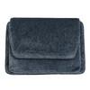 Dámská sametová kabelka bata, šedá, 969-2662 - 19