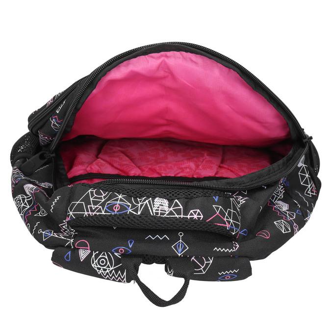 Školní batoh s potiskem bagmaster, černá, 969-6650 - 15