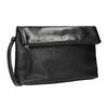 Crossbody kabelka s klopou bata, černá, 961-6501 - 13