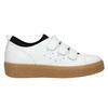 Kožené dámské tenisky na suché zipy bata, bílá, 526-1646 - 26