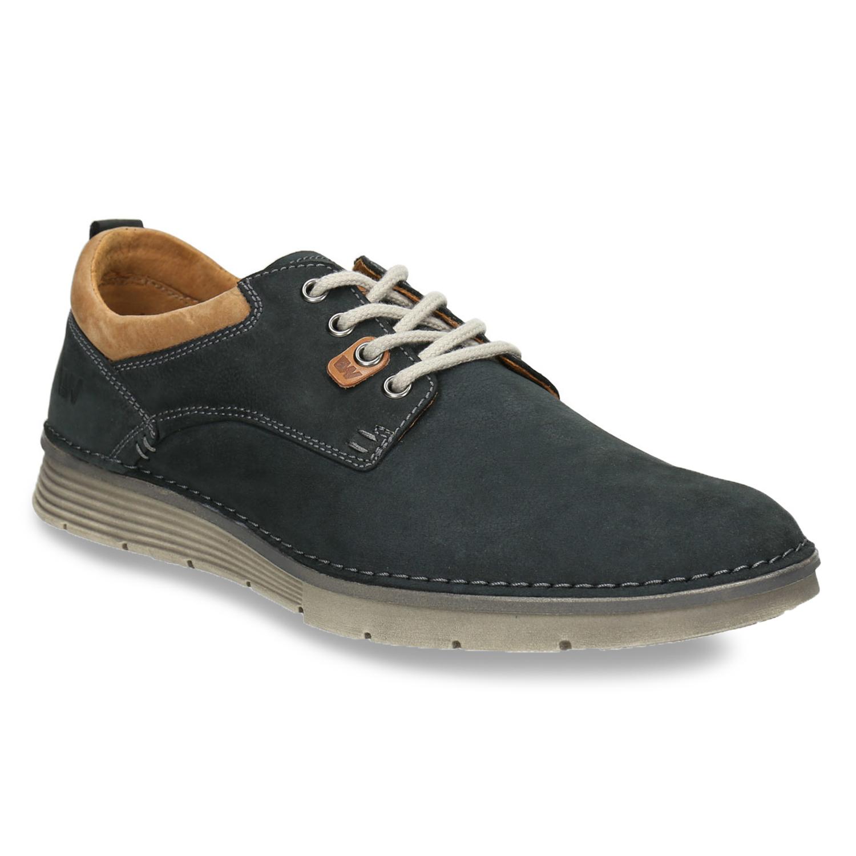Weinbrenner Ležérní kožené polobotky - Všechny boty  e89ce2dd14
