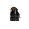 Černé kožené Oxford polobotky bata, černá, 826-6671 - 16
