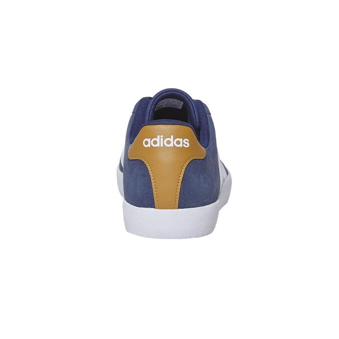 Pánské kožené tenisky adidas, modrá, 803-9197 - 17