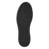 Dámské Slip-on na černé flatformě bata, šedá, 516-1613 - 19