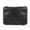 Dámská kabelka s řetízkem bata, černá, 961-6753 - 26